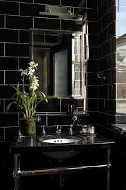 Black Tile Bathroom Fascinating Black Bathroom Tile Ideas