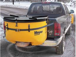 meyer blaster salt spreader hitch mounted  meyer mate tailgate salt spreader