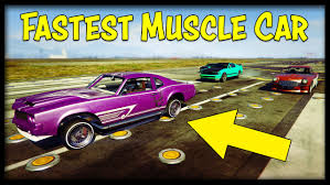 New Fastest Muscle Car In Gta Online Weird Sabre Turbo Custom
