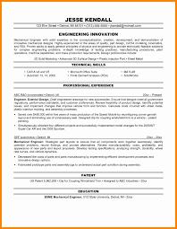 Sample Resume Format For Experienced Engineers Best Best Engineering