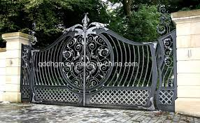 Decorative Metal Gates Design New Decorative Metal Driveway Gates Droughtrelieforg