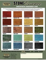 Colour Charts Con Spec Industries