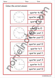 Quarter Cards Clock Peg Cards