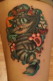 чеширский кот фото татуировок