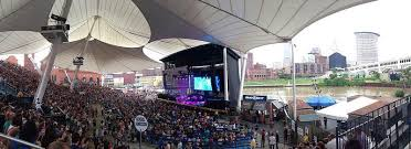 Jacobs Pavilion Seating Chart Cleveland 7 27 Tour 5hincleveland Twitter