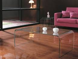 glass coffee table view enlarged image