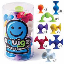 Squigz Starter Set, <b>Fat Brain</b> Toys (<b>конструктор</b>) — Магазин ...