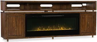 hooker furniture entertainment center. Hooker Furniture Big Sur Entertainment Console With Fireplace Insert Center