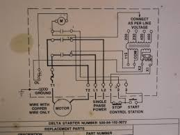 how to hook up power to a delta 14 radial saw magnetic starter box schematic close up jpg