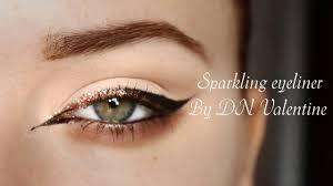 Sparkling Eyeliner Wings стрелки с блестками