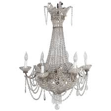 delicate small french chandelier for