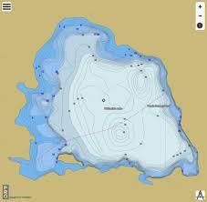 Snipe Lake Depth Chart Whitefish Lake Fishing Map Us_mi_27_221 Nautical