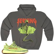 Yeezy Hoodie Size Chart Yeezy Boost 350 V2 Semi Frozen Yellow Hoodie Frozen Yellow Yeezy Hoodie Yeezy Hoodie Tlop Serving V1