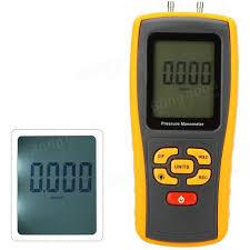differential manometer. gm510 portable digital lcd display pressure manometer 50kpa differential gauge
