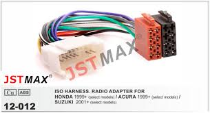 online get cheap acura wiring harness aliexpress com alibaba group jstmax car iso radio plug for honda acura 1999 for suzuki 2001 wire cable
