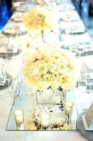round mirror for centerpieces centerpiece glass mirrors wedding gallery tables weddings centerpi