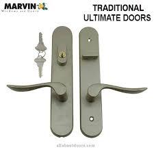 door handles with locks. Marvin Handle Set Trim, Patio Door, Active \u0026 Passive Door Handles With Locks