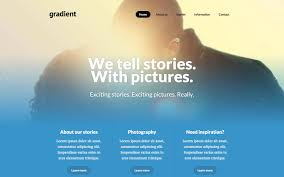 Gradient Photography Template
