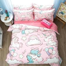 high quality unicorn bedding set panda dog print bedding anime bed duvet cover sets quilt cover nordic style decoration 6 california king comforter