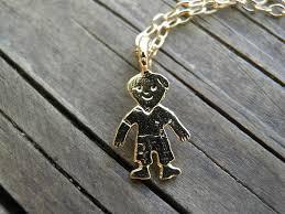 personalized boy necklace 14k gold tiny boy charm pendant mother necklace new born