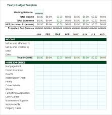 Monthly And Yearly Budget Template Best Cash Flow Software Budget Forecast Template Excel
