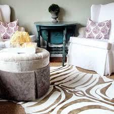 faux zebra rug awe diy rugs interior design 9