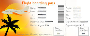 Airline Ticket Template Word Adorable Blank Plane Ticket Template Photo Pic Plane Ticket Template Design