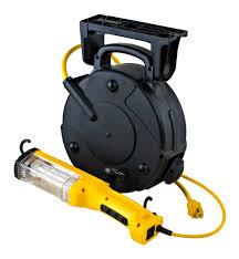 Industrial Fluorescent Retractable Cord Reel Work Light 26