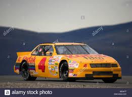 A 1992 Chevy Lumina historic NASCAR at a vintage racing event ...