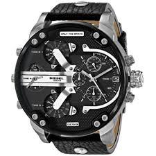 diesel men s watches shop the best deals for 2017 diesel men s dz7313 mr daddy black watch