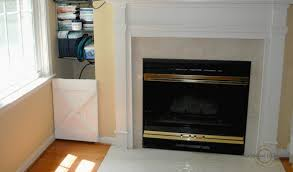we have a little recessed space next to our fireplace that has glass shelves for audio and components the space is perfect for housing a cable box