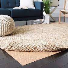 grid non slip synthetic rubber rug pad 6 x 9