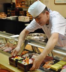 Sushi Cook Outsider Japan Itamae The Traditional Japanese Sushi Chef