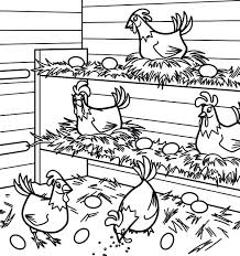 Chicken Coloring Pages Download Chuck Chicken Colouring Pages