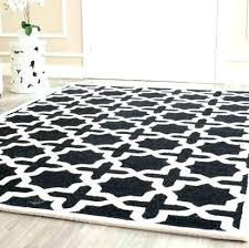 black moroccan rug black rug black and white rug black and ivory rug black and white