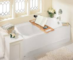 accessories home attractive bathtub storage 1 teak tray caddy for reading with wine and book holder plus