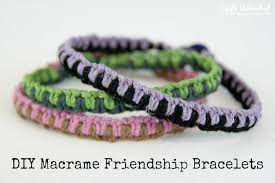 supplies needed to make your own macrame friendship bracelets