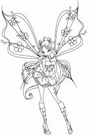 Winx Club Coloring Pages And Book | UniqueColoringPages - Coloring ...
