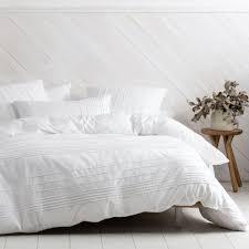 linen house cameron white duvet cover set
