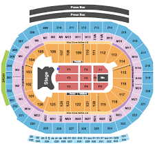 Little Caesars Arena Seating Chart View Elton John Packages