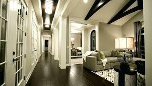 dark flooring and light walls