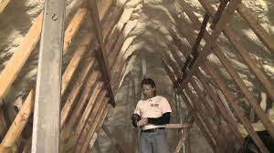insulating and air sealing an attic with spray foam short version you