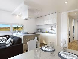 Timeless White Kitchen Design A Timeless White Kitchen Design With Modern Equipement Has