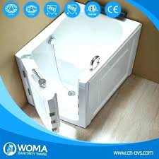 portable tubs for showers bathtub disable people walk in tub shower combo with seat cost portable walk in tub cost