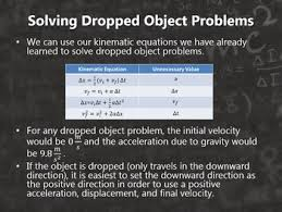 Free Fall Powerpoint Physics Motion In One Dimension Free Fall Powerpoint By Super