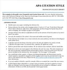 Apa Style Introduction Example Apa Style Samples Magdalene Project Org