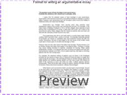 format for writing an argumentative essay college paper help format for writing an argumentative essay argumentative essay introduction main goals and difficulties an
