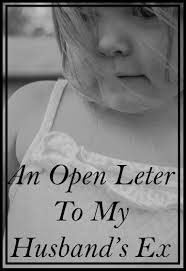 an open letter to my ex