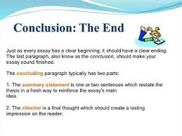 what is a good conclusion for an essay yahoo answers it is a good idea to recapitulate what