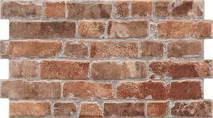 rustic masonry classic red brick effect